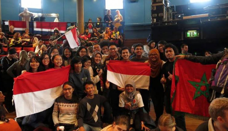 Mahasiswa UGM Ikuti International Student Festival in Trondheim 2015