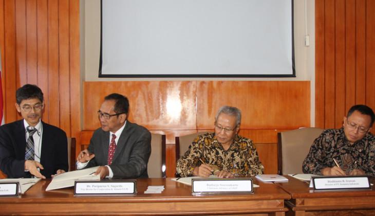 UGM dan Komatsu Perkuat Kerja Sama