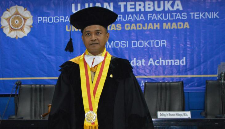 Kembangkan Rekayasa CMAC Dalam Penyandian, Iradat Raih Doktor