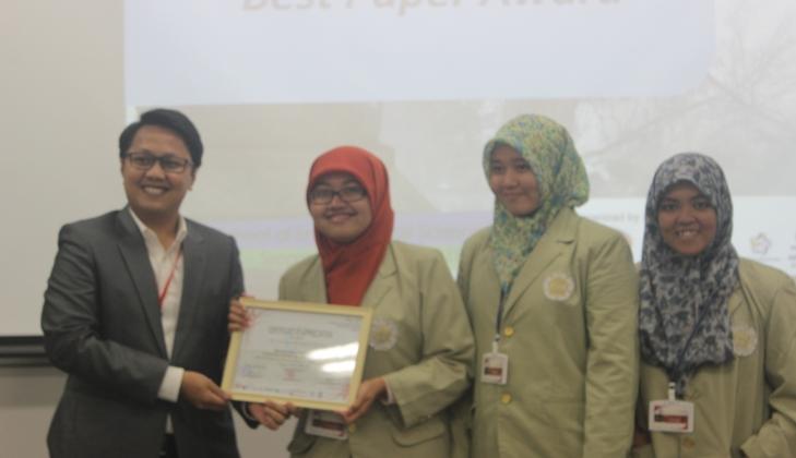 Mahasiswa Biologi Raih Penghargaan HISAS 12