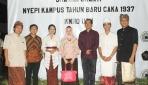 Rektor UGM Hadiri Peringatan Nyepi di Kampus
