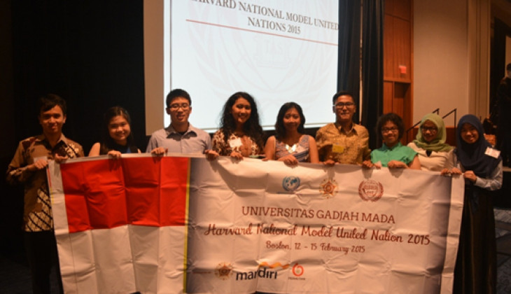 Mahasiswa UGM Ikuti Harvard National Model United Nations 2015