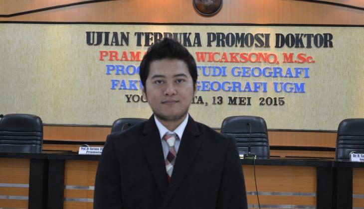 Teliti Pemetaaan Stok Karbon Padang Lamun, Pramaditya Raih Doktor
