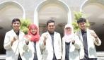 Tim mahasiswa pengembang I-REBOT