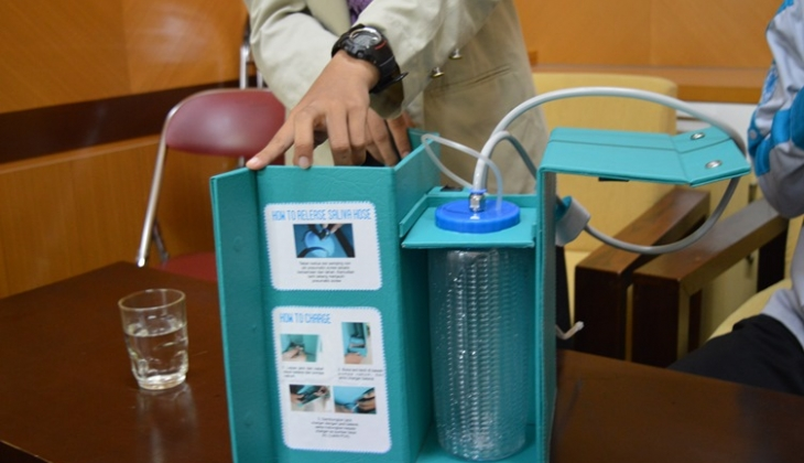 Live-Jet, Inovasi Praktis Perawatan Gigi dan Mulut
