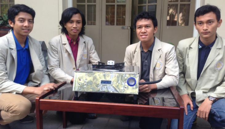 Mahasiswa UGM Kembangkan Kompor Gas Otomatis
