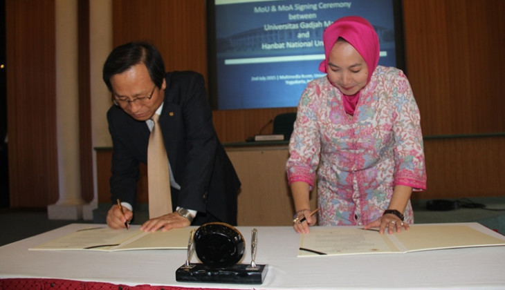UGM-Hanbat National University Jalin Kerja Sama