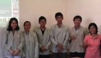 Tim peneliti bersama dosen pembimbing