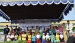 450 Siswa SD di Sewon Kampanye Cuci Tangan Pakai Sabun