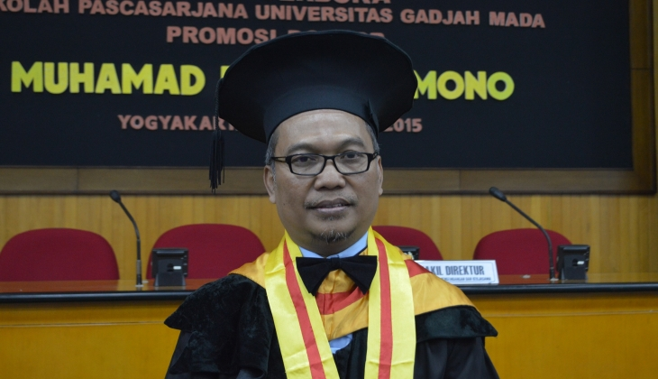 Raih Doktor Usai Kaji Penataan PKL Perspektif Komunikasi Pembangunan