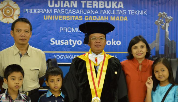 Susatyo Handoko Raih Doktor Bidang Ilmu Teknik
