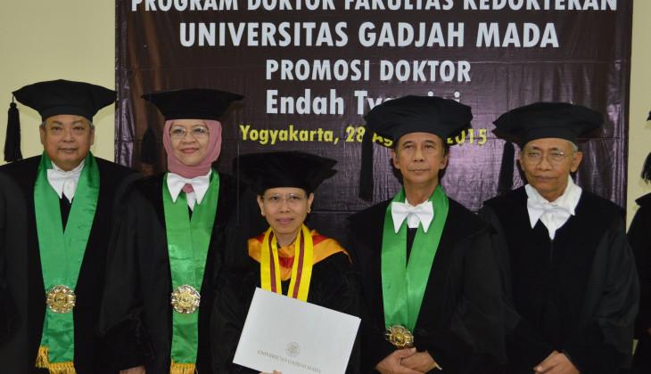 Endah Tyasrini, Dosen Universitas Maranatha Raih Gelar Doktor