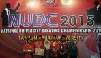 Tim EDS UGM Juarai Kompetisi Debat Bahasa Inggris Nasional
