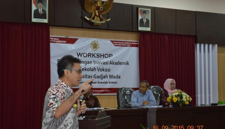 Workshop Inovasi Akademik SV UGM