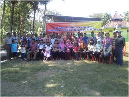 Fakultas Filsafat UGM Gelar Bakti Sosial di Bantul