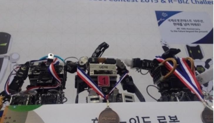 UGM Juara 3 Kontes Robot Internasional