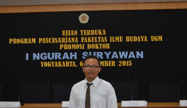 Ngurah Suryawan, Dosen UNIPA Raih Doktor