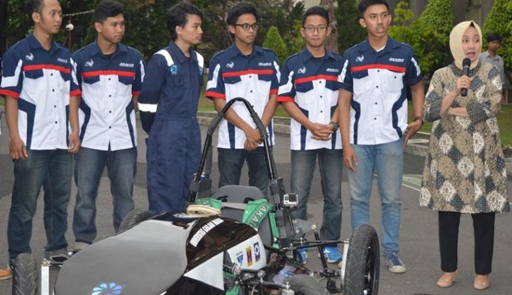 Mobil Listrik ARJUNA Siap Berlaga di Bandung