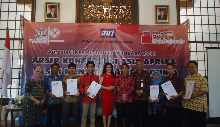 Musliichah, Juara Lomba Karya Tulis ANRI 2015