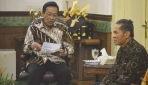 Panitia Nitilaku Dies Natalis UGM  Audiensi Dengan Sri Sultan HB X