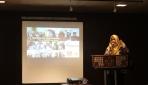 Nur An Nisa Milyana saat presentasi di OKTI 2015.