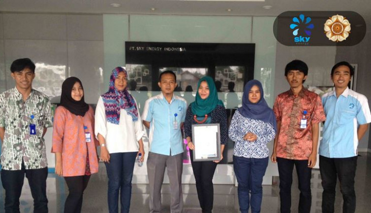 Tim ARJUNA UGM dan PT. Sky Energy Indonesia