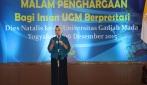 Rektor UGM Memberi Sambutan