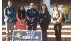 Ki-ka: Dede Taopik, Riri Kumalasari, Djaka Marwasta, bersama dua peneliti dari Shizouka University