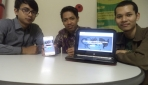 Tiga mahasiswa UGM berhasil mengembangkan web konsultasi dokter hewan online 'Dokterhewanku.com'.