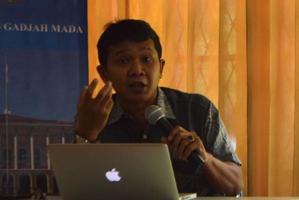 Pengamat Politik UGM, Dr. Arie Sudjito.