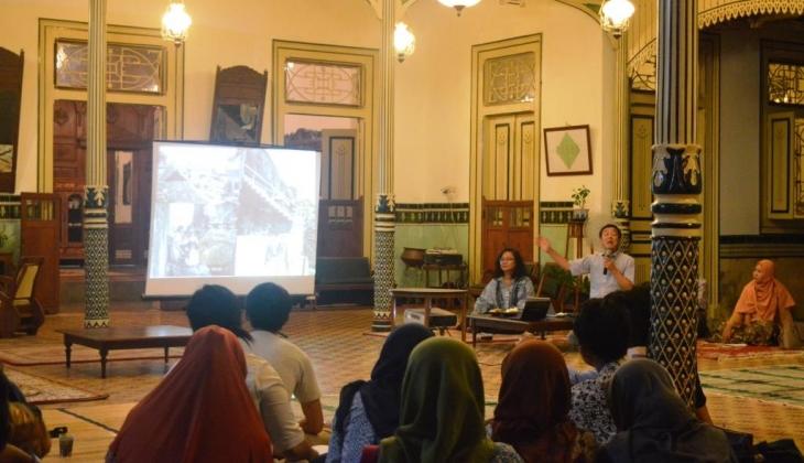 Suasana Seminar di Ndalem Natan