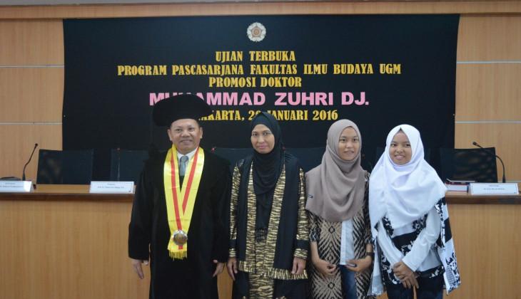 Muh. Zuhri dan keluarga