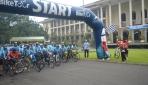 Rektor UGM Melepas Peserta Jogja Exotic Cycling