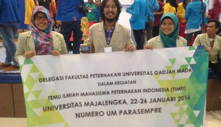 Tim Mahasiswa UGM Juara II Debat Peternakan Nasional TIMPI