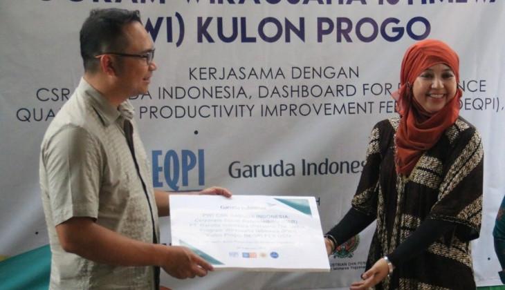 DEQPI FEB UGM Jalin Kerja Sama dengan Garuda Indonesia untuk Program Wirausaha Istimewa
