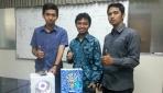 Tim mahasiswa UGM raih juara 1 Lomba Inovasi K3 Pertamina yang diselenggarakan oleh Pertamina RU IV Cilacap, 25 Februari lalu.