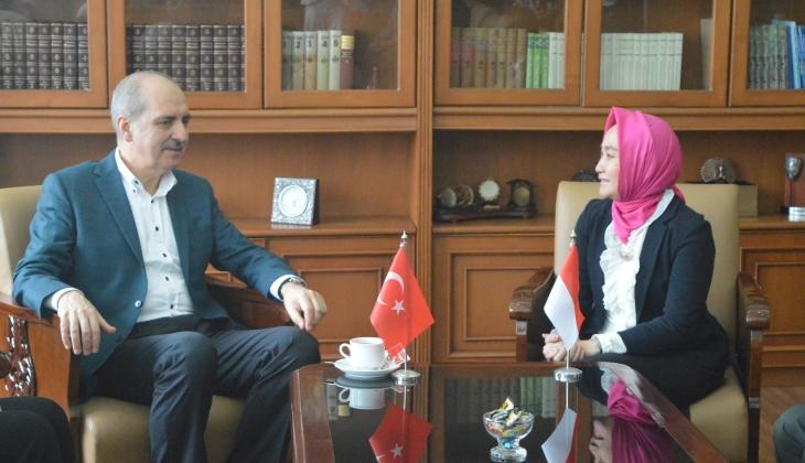 Wakil Perdana Menteri Republik Turki Sambangi UGM