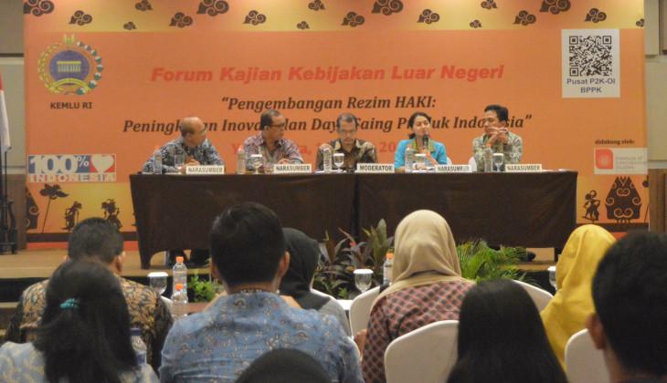 Pemanfaatan Kekayaan Intelektual Indonesia Belum Maksimal