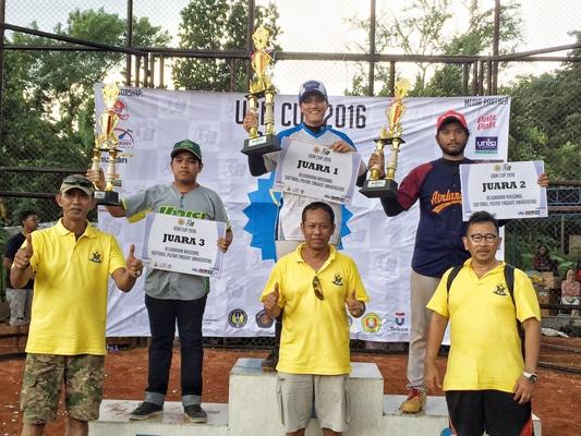 Tim Softball UGM Juarai Kompetisi Softball Nasional UGM Cup 2016(foto: dok. UKM Softball)