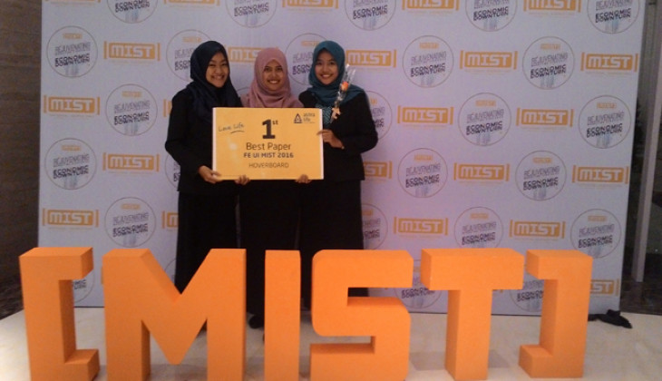 "TIM E-Craft UGM Juara 1 Lomba Marketing Nasional ""MIST"""