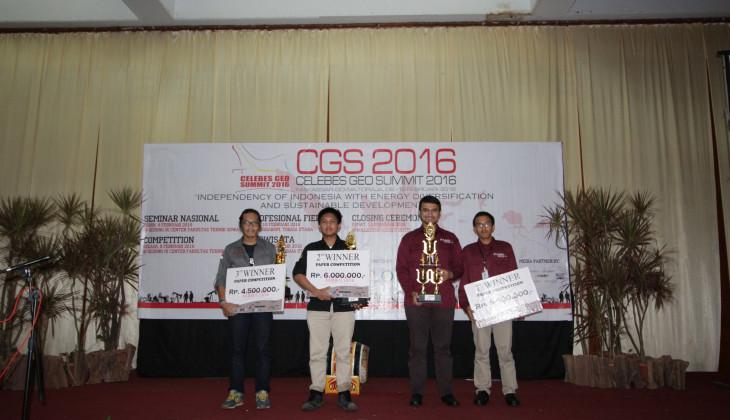 Mahasiswa UGM Juara 1 Celebes Geo Summit 2016