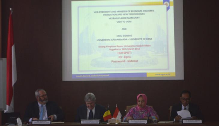 UGM dan University of Liege Pererat Kerja Sama Riset