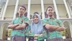Tim mahasiswa pengembang Edzu.