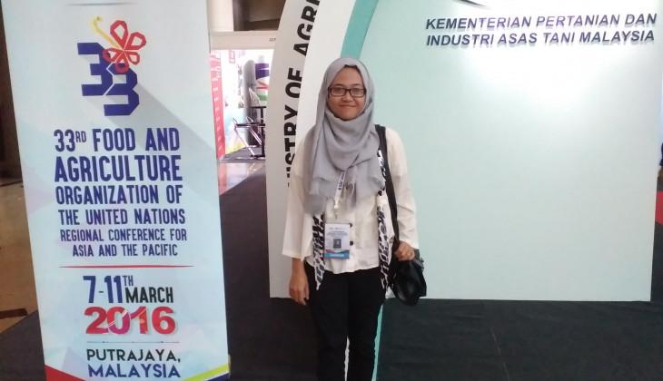 Mahasiswa UGM Hadiri Konferensi Regional FAO