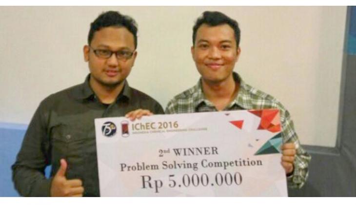 Mahasiswa UGM Juara Lomba Rancang Pabrik Tingkat ASEAN