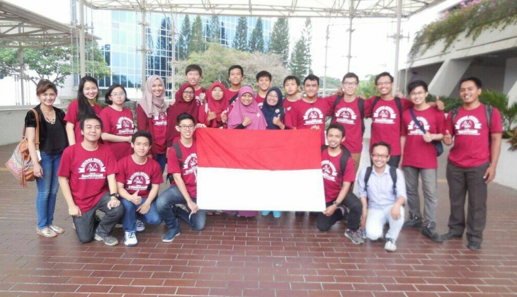 UGM Juara  II Bridge Design Competition di Singapura