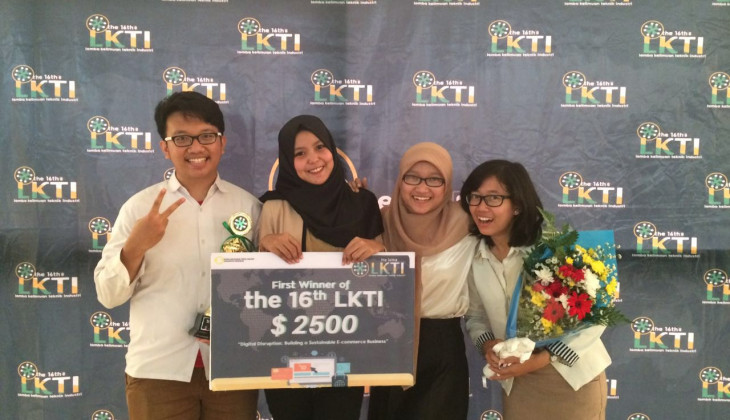 Tim UGM Menang Lomba Keilmuan Teknik Industri Nasional