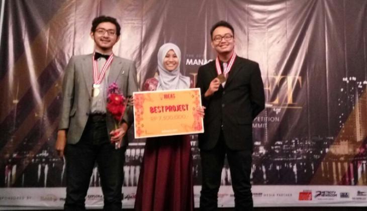 Tim Mahasiswa UGM Juara Kompetisi Bisnis Nasional