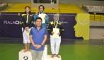 Kempo UGM sabet medali perak dan perunggu dari randori kelas 60 kg.