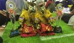 Robot tari UGM menyabet medali emas dari Kontes Robot Seni Tari Indonesia (KRSTI) sekaligus meraih predikat the best artistic.